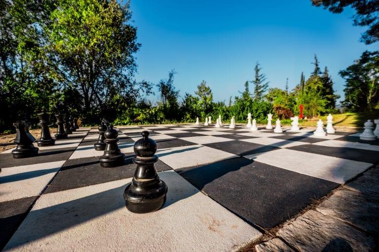 לוח שחמט ענק